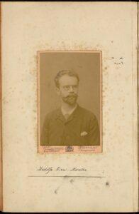 Retrato Munthe 1886