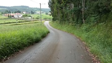Camino de La Arena de Logrezana