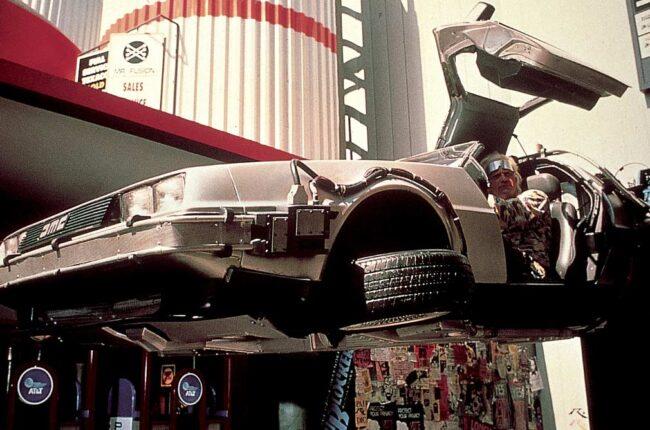 coches y cine DeLorean