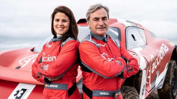 Laia Sanz y Carlos Sainz