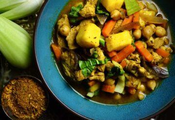 platos con legumbres